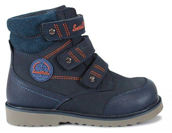 090241624 Детские демисезонные ортопедические Ботинки для мальчиков с высоким берцем  23-287 Sursil-Ortho M ...